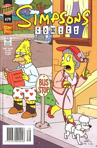 simpsons comic #79 (au)