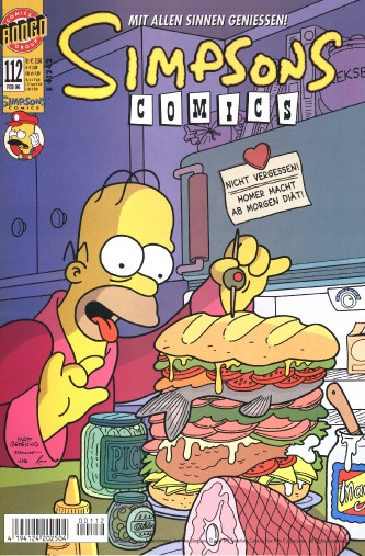 simpsons comic #112 (de)