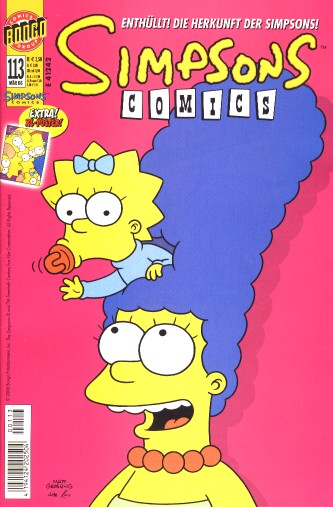 simpsons comic #113 (de)