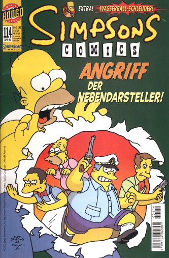 simpsons comic #114 (de)