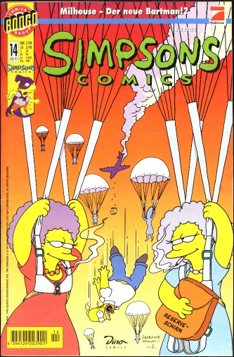 simpsons comic #14 (de)