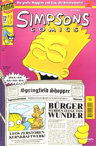 simpsons comic #17 (de)