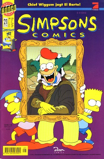 simpsons comic #21 (de)