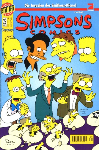 simpsons comic #29 (de)
