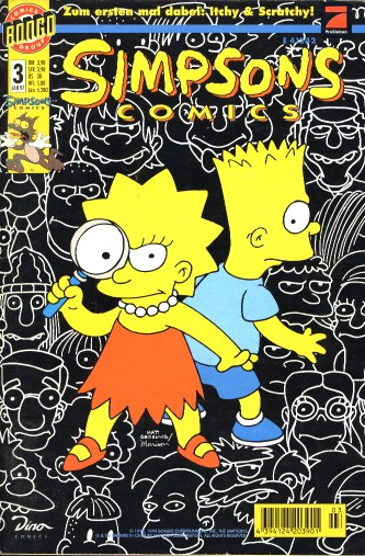 simpsons comic #3 (de)