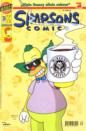 simpsons comic #30 (de)