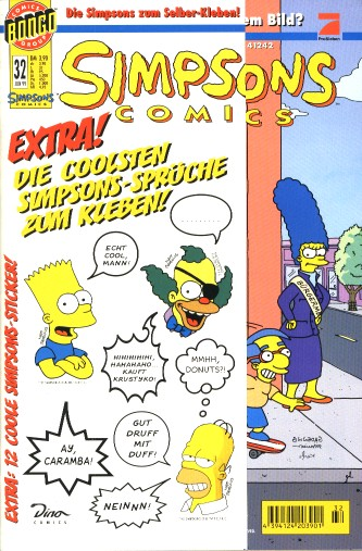 simpsons comic #32 (de)