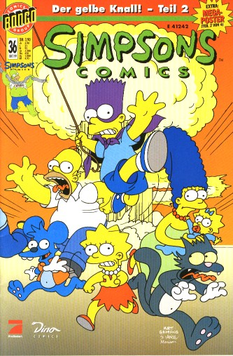 simpsons comic #36 (de)