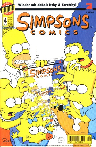 simpsons comic #4 (de)