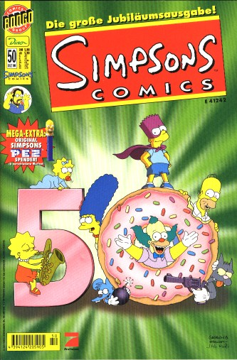 simpsons comic #50 (de)