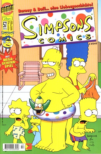 simpsons comic #57 (de)