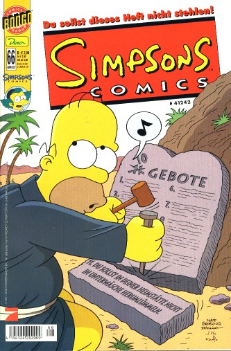 simpsons comic #66 (de)