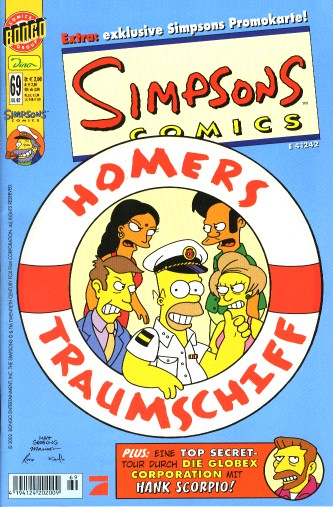simpsons comic #69 (de)