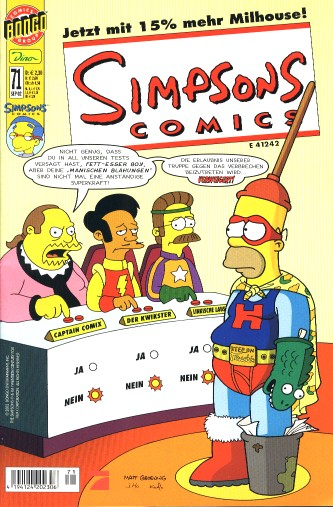 simpsons comic #71 (de)