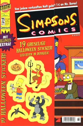 simpsons comic #72 (de)