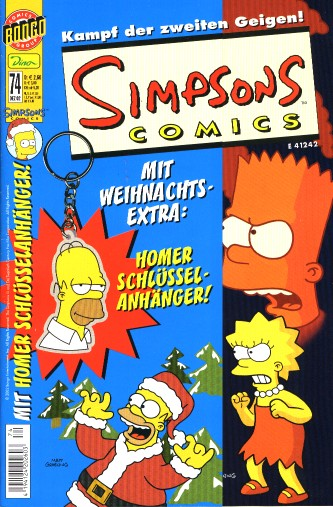 simpsons comic #74 (de)