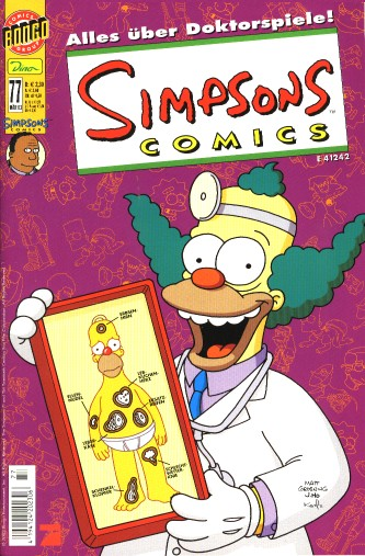 simpsons comic #77 (de)