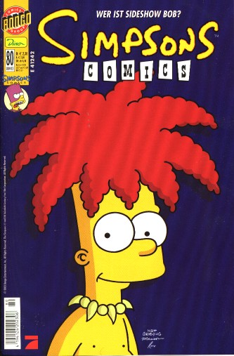 simpsons comic #80 (de)