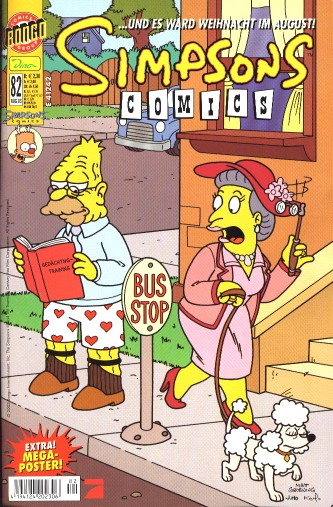 simpsons comic #82 (de)
