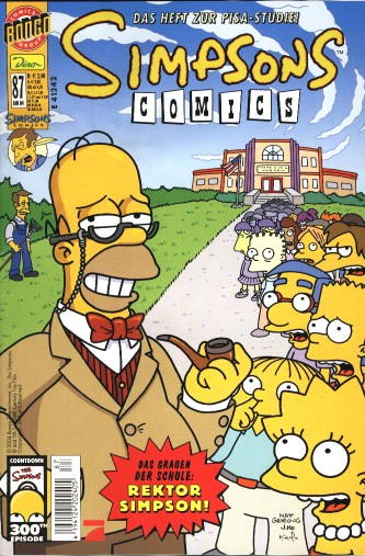 simpsons comic #87 (de)