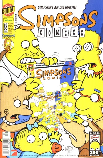 simpsons comic #88 (de)