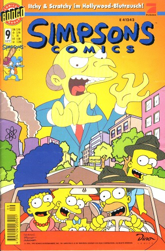 simpsons comic #9 (de)