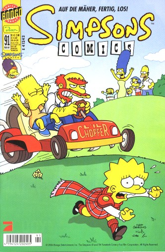 simpsons comic #91 (de)