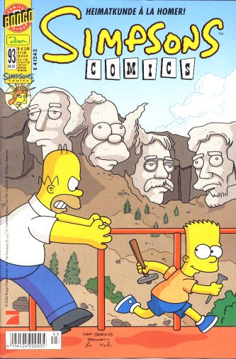 simpsons comic #93 (de)