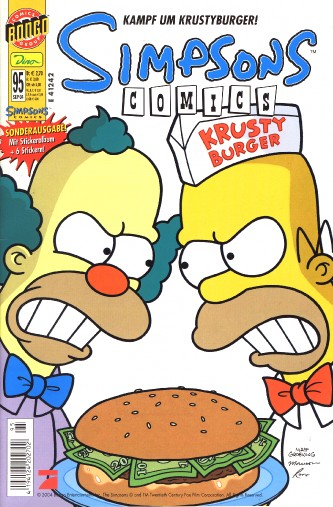 simpsons comic #95 (de)