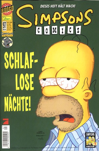 simpsons comic #97 (de)