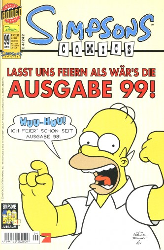 simpsons comic #99 (de)
