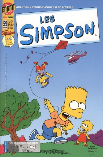 simpsons comic #59 (fr)