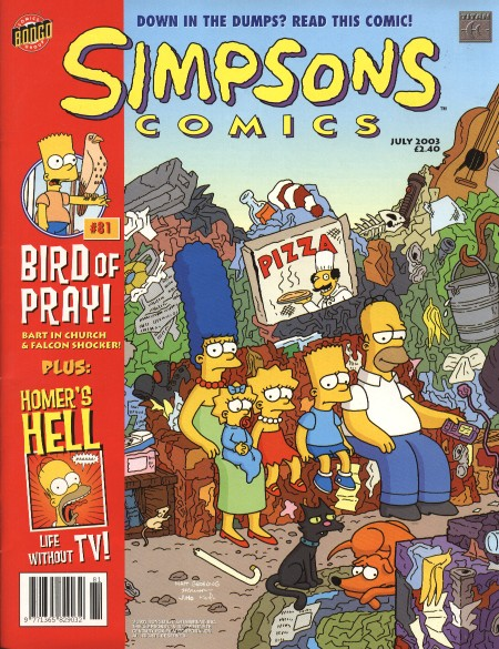 simpsons comic #81 (uk)